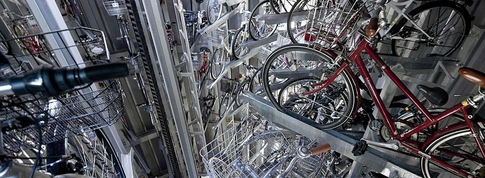 Wielkomiejski schowek na rowery