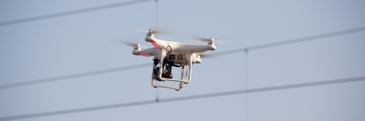Drony na ratunek