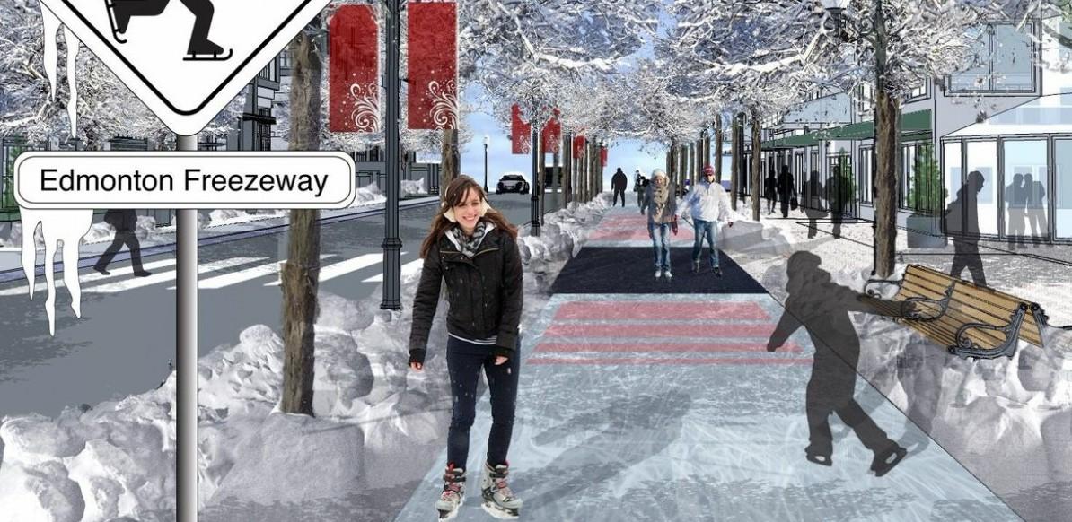 Freezway: ścieżka dla łyżwiarzy