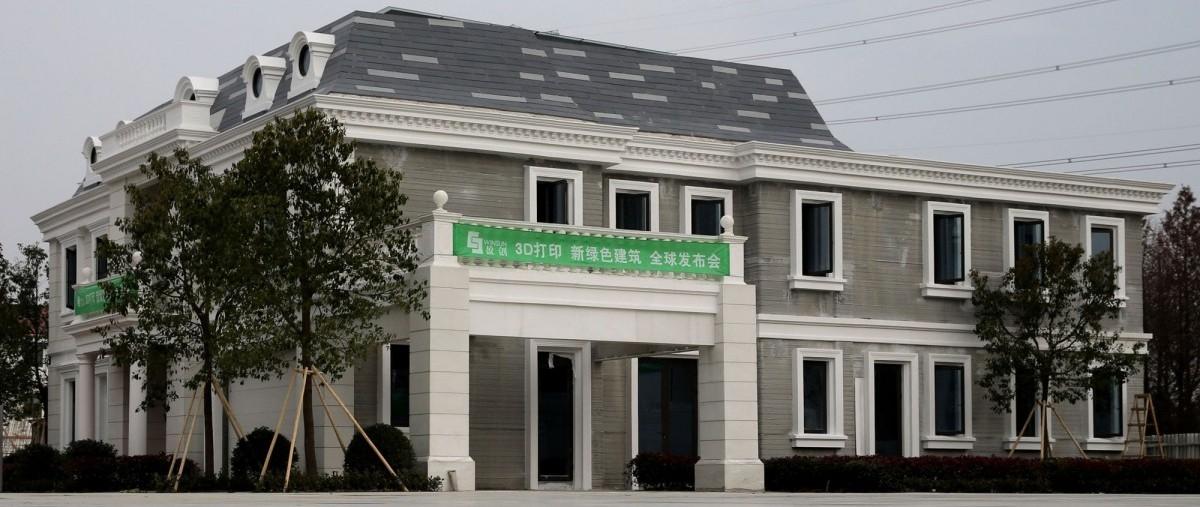 W Chinach drukują domy