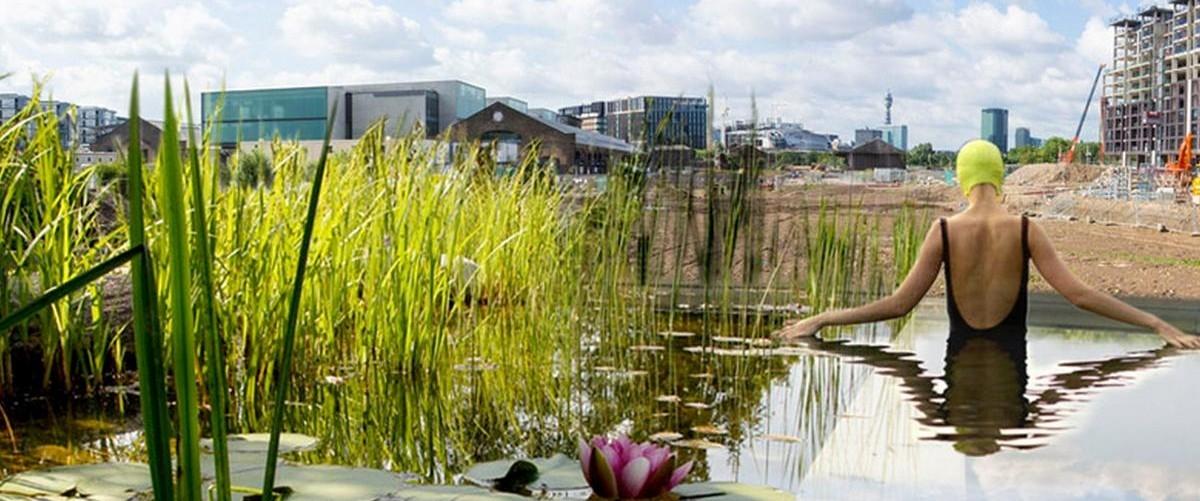 W Londynie zamiast miejskich basenów robią jeziora