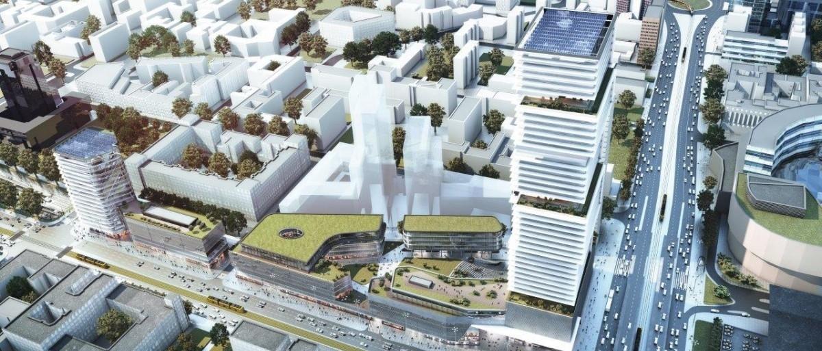 Nowe, biurowe osiedla wszywane w tkankę miejską stolicy