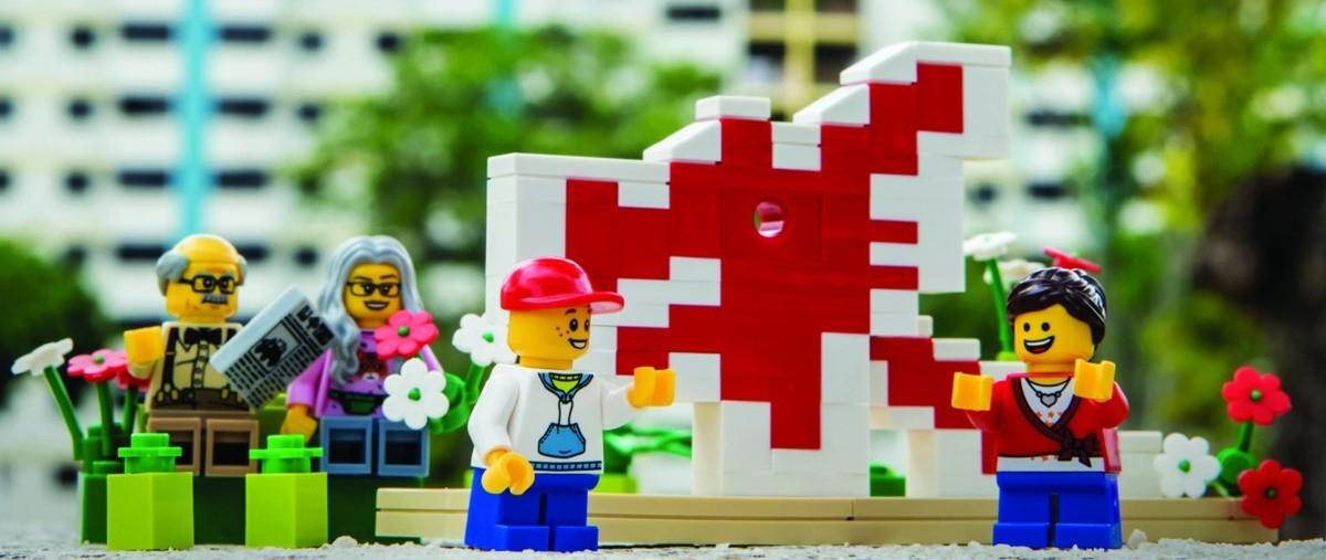 W Singapurze dzieci projektują miasto przyszłości. Wszystko z klocków Lego
