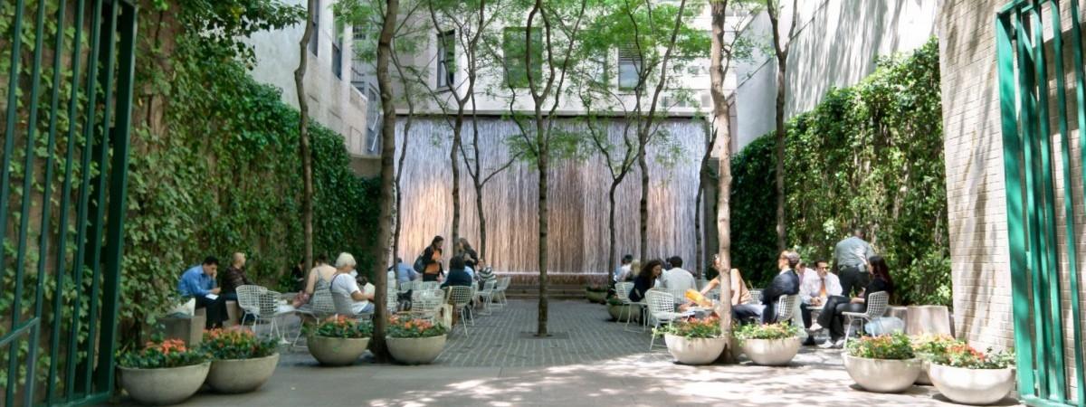 Kieszonkowe parki wypełniają dziury w mieście