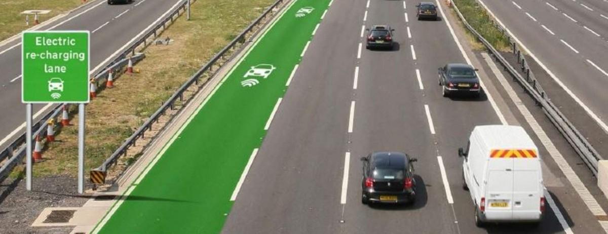 Koniec problemu z zasięgiem: droga sama zasili elektryczne auta