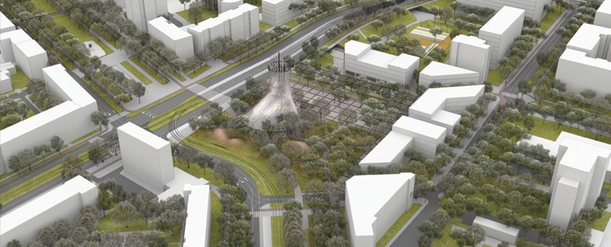 W projektach polskich miast coraz więcej drzew i ludzi