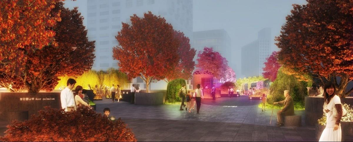 Seul: tory zmienione w Tajemniczy Ogród