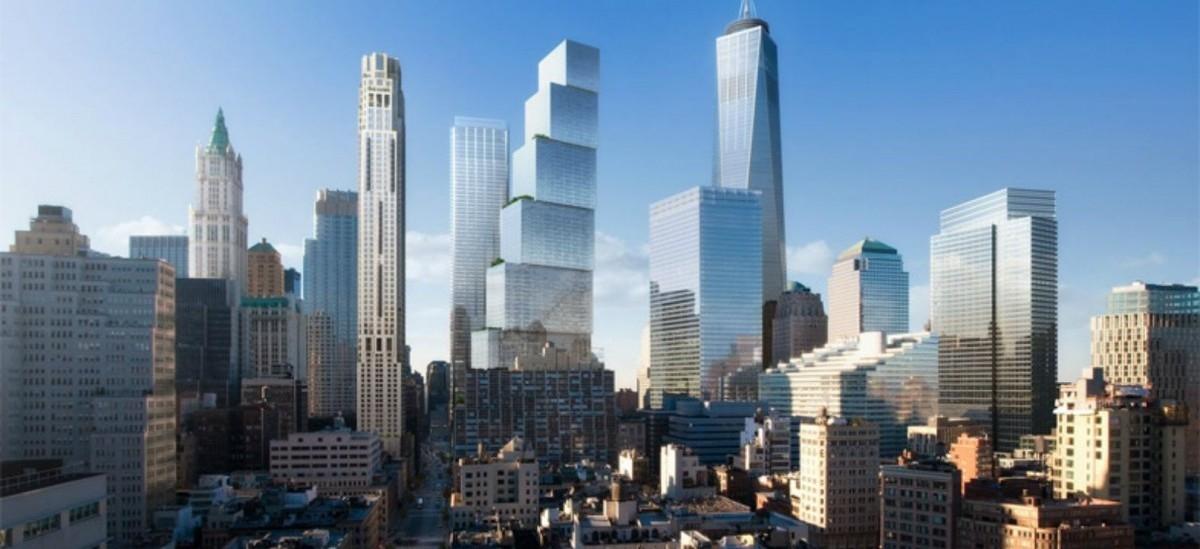 Nowe WTC pnie się ku niebu jak uliczka obsadzona kamienicami