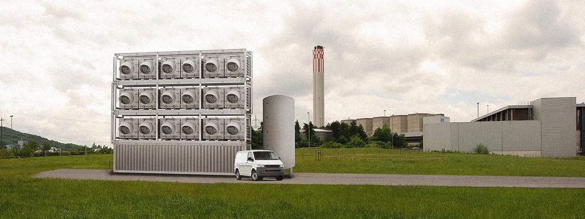 Zakład przetwarzania CO2 na pieniądze