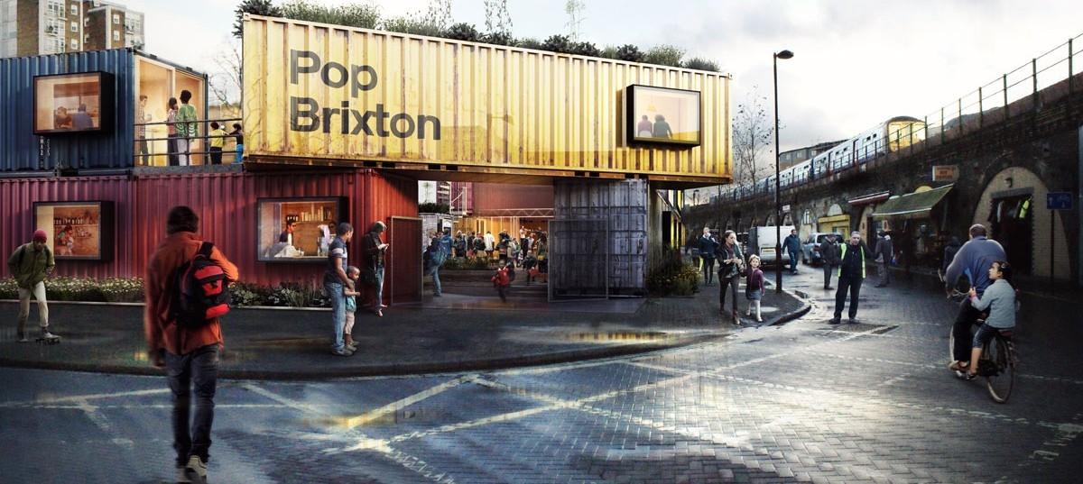 Pop Brixton: kontenerowe zagłębie startującego biznesu