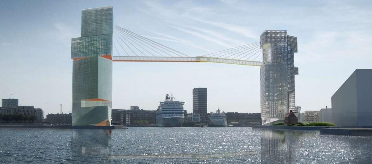 Nad kopenhaskim portem zawiśnie most dla rowerów