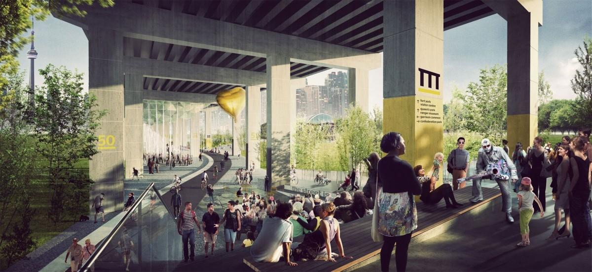 W Toronto zrobią porządki pod mostem