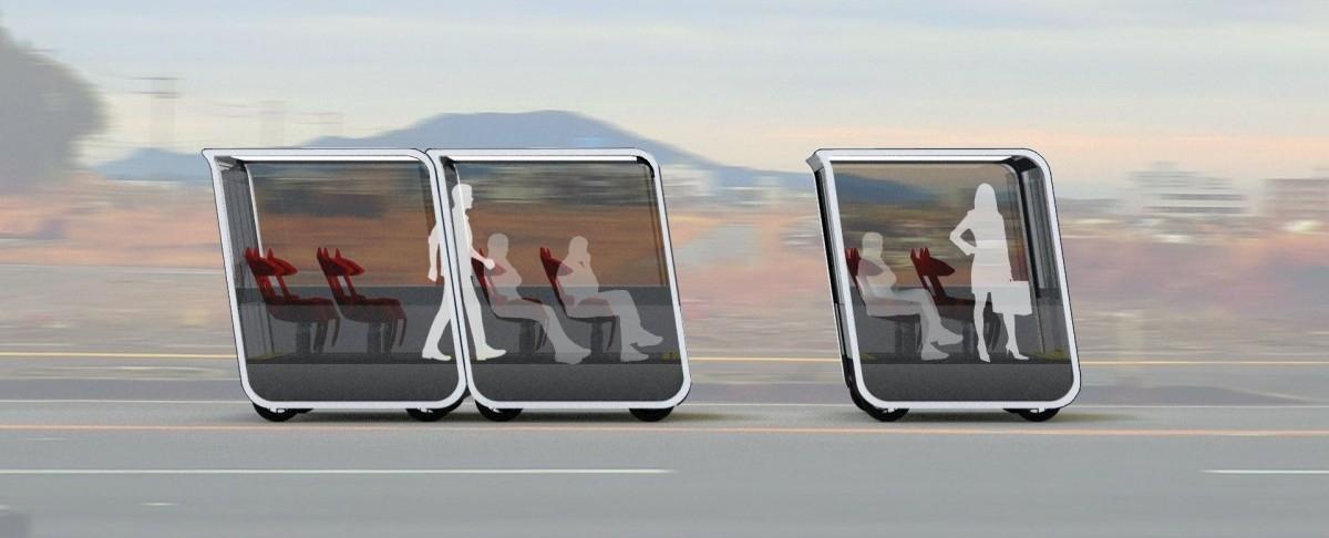 Samojezdne wagoniki rozwiozą ludzi po mieście