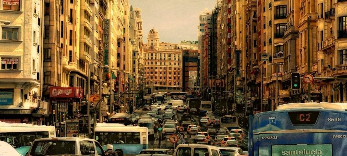 W Madrycie samochody zostały skazane na banicję