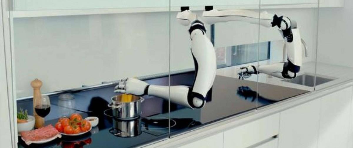 Robot kuchenny z prawdziwego zdarzenia