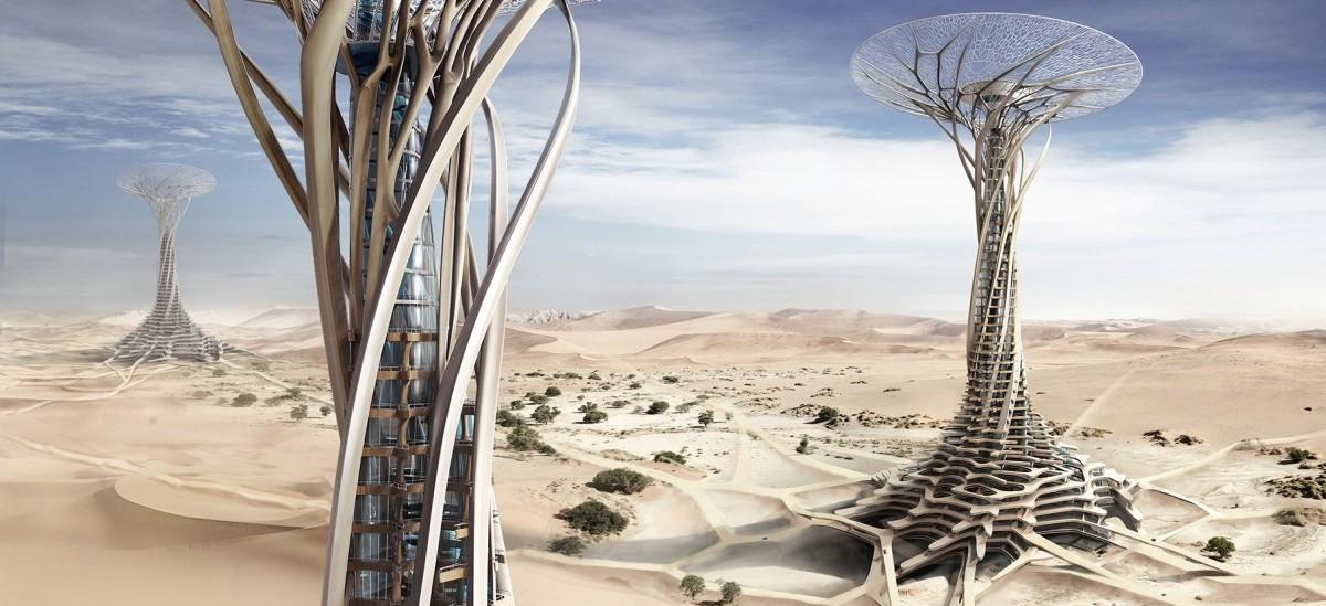 Wieżowce wyrosną na pustyni
