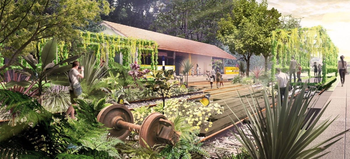 Singapur też będzie miał park na torowisku
