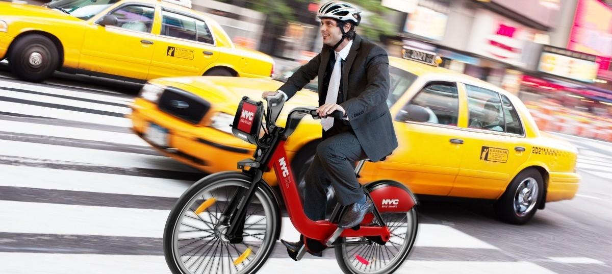 Rower szybszy od taksówki