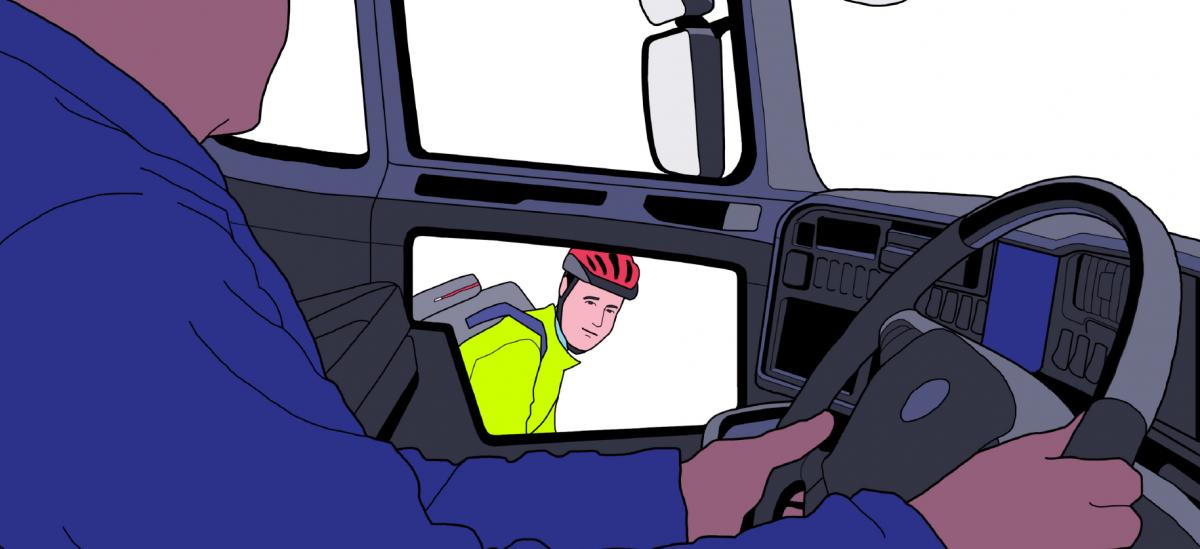 W Londynie ciężarówki będą miały wizjer na rowerzystów