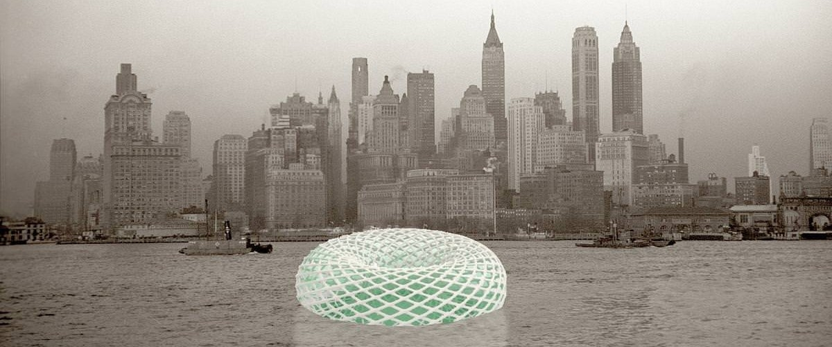 U wybrzeża Nowego Jorku będzie pływać ogród