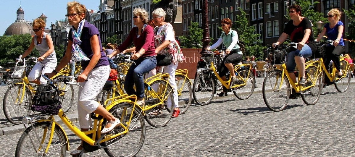 Amsterdam będzie jeszcze bardziej rowerowy