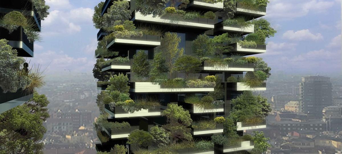 Pionowy las wyrośnie w środku miasta