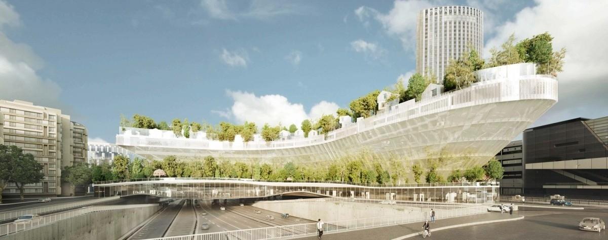 W Paryżu na autostradzie wyrośnie las do zamieszkania