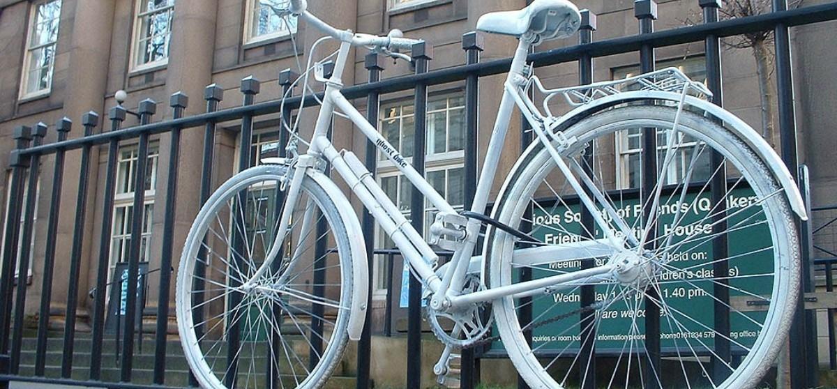 Rowery duchy straszą po mieście