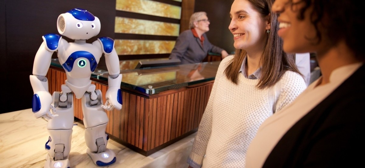 Roboty zadomawiają się w hotelach
