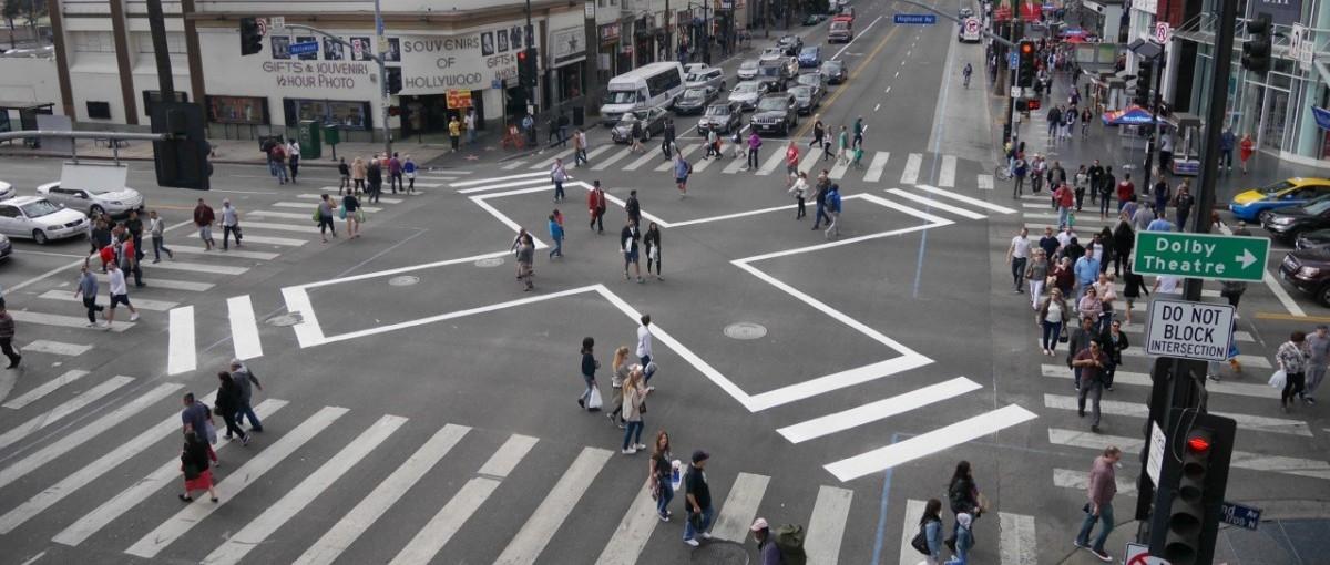 Skrzyżowanie we władaniu pieszych