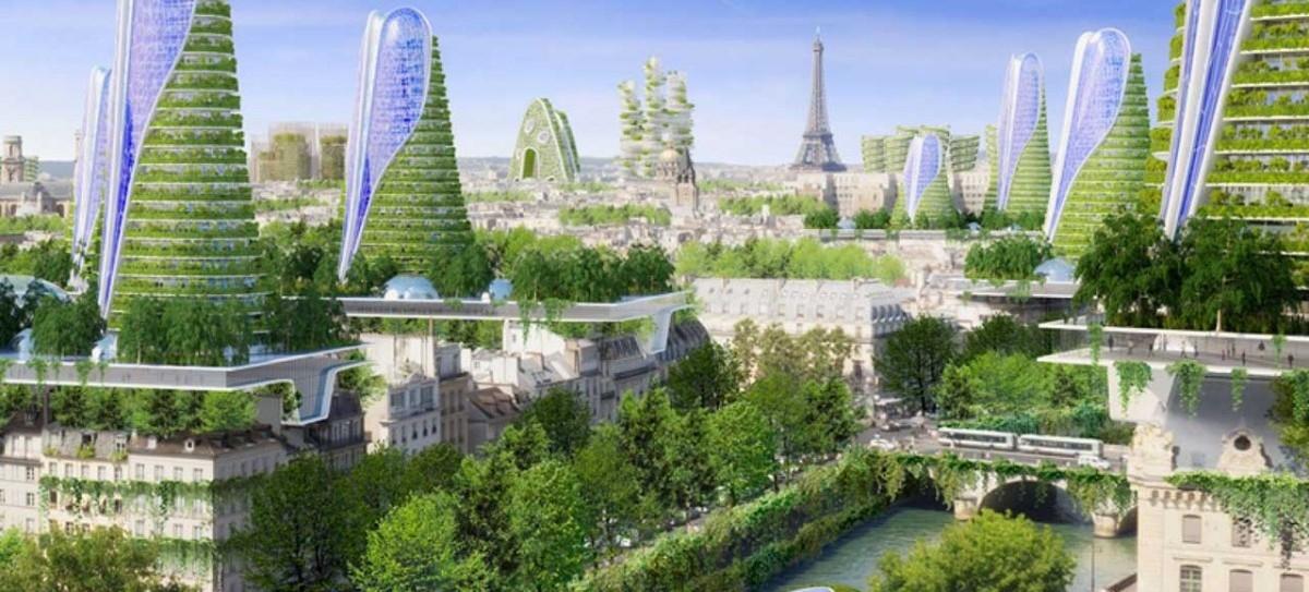 Zielony Paryż przyszłości