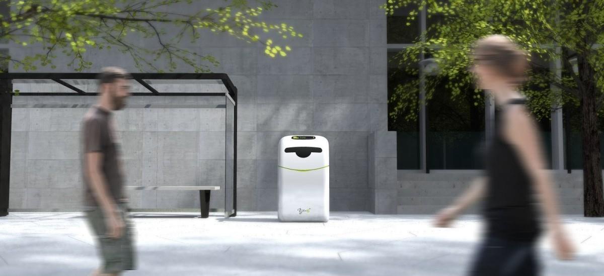 Polacy stworzyli inteligenty śmietnik, który sam segreguje i prasuje odpady