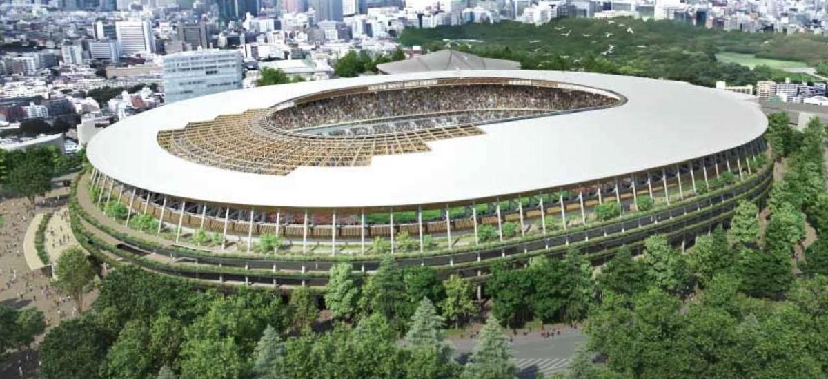 Wielki drewniany stadion olimpijski