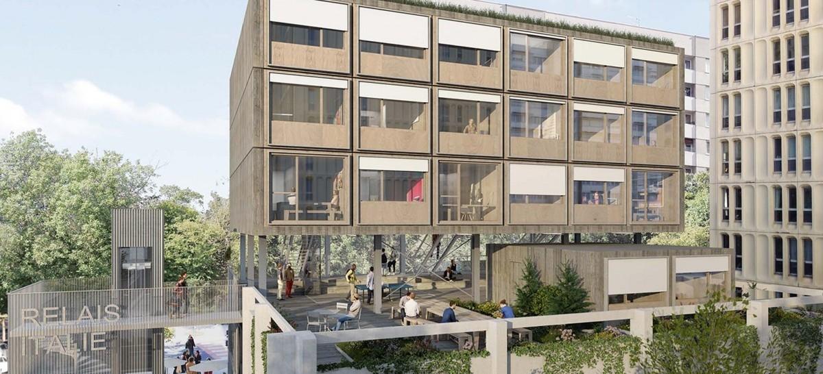 Wielofunkcyjny akademik w centrum miasta
