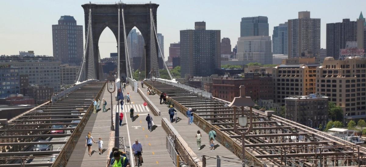 Nowojorczycy polubili spacery. Ponad mostem Brooklińskim powstanie więc promenada