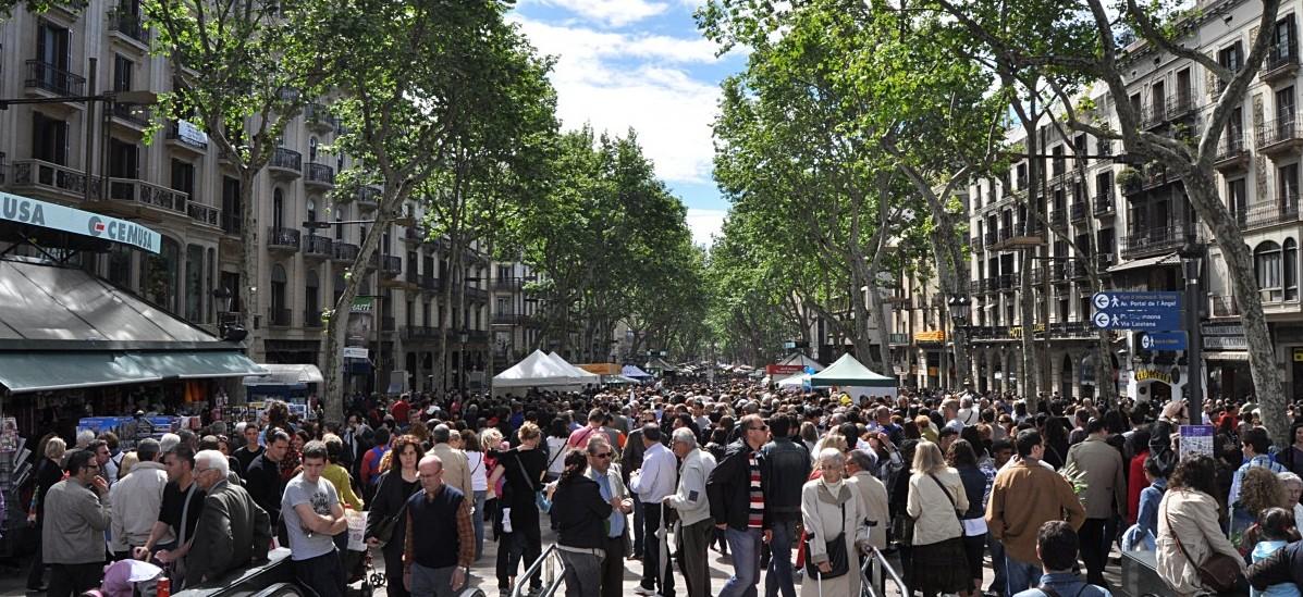Barcelona całe kwartały ulic odda pieszym