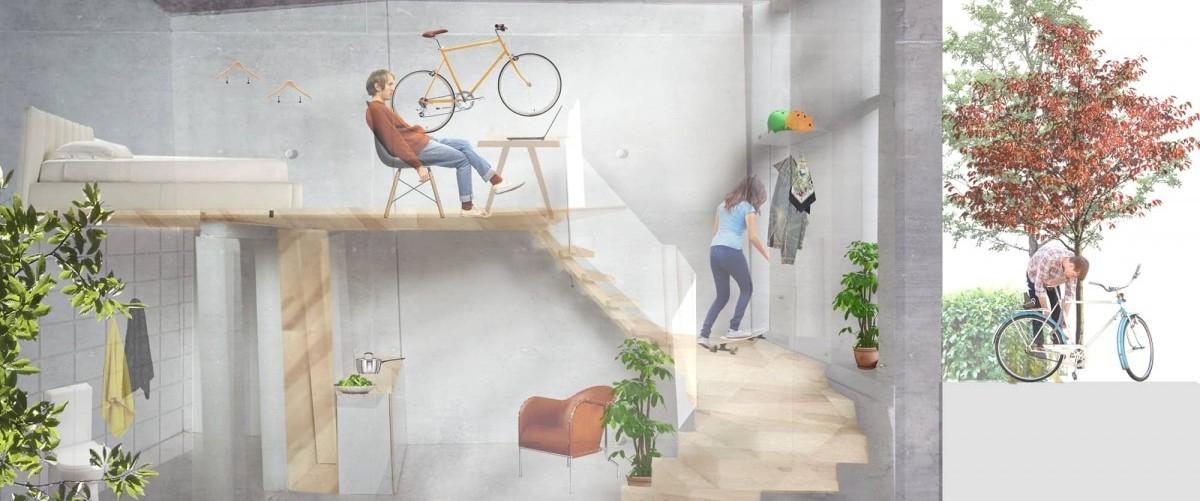 W Szwecji rośnie pierwszy na świecie dom dla rowerzystów
