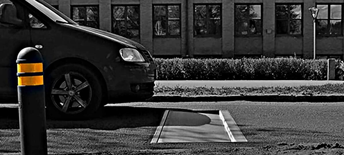 Próg chowający się w jezdni przypomni kierowcom, żeby zwolnili
