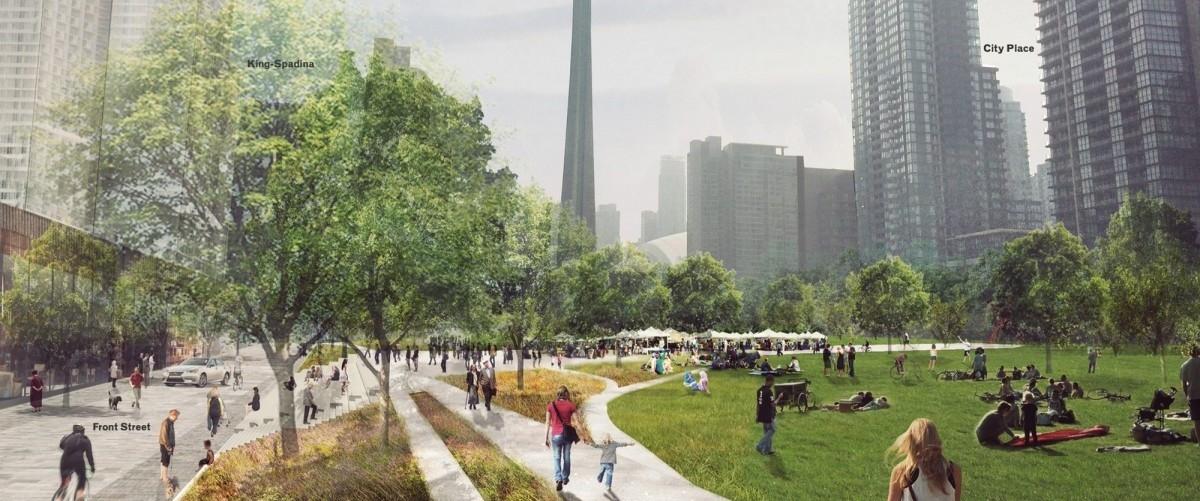 W Toronto węzeł kolejowy biegnący przez centrum Kanadyjczycy przykryją własnym Central Parkiem