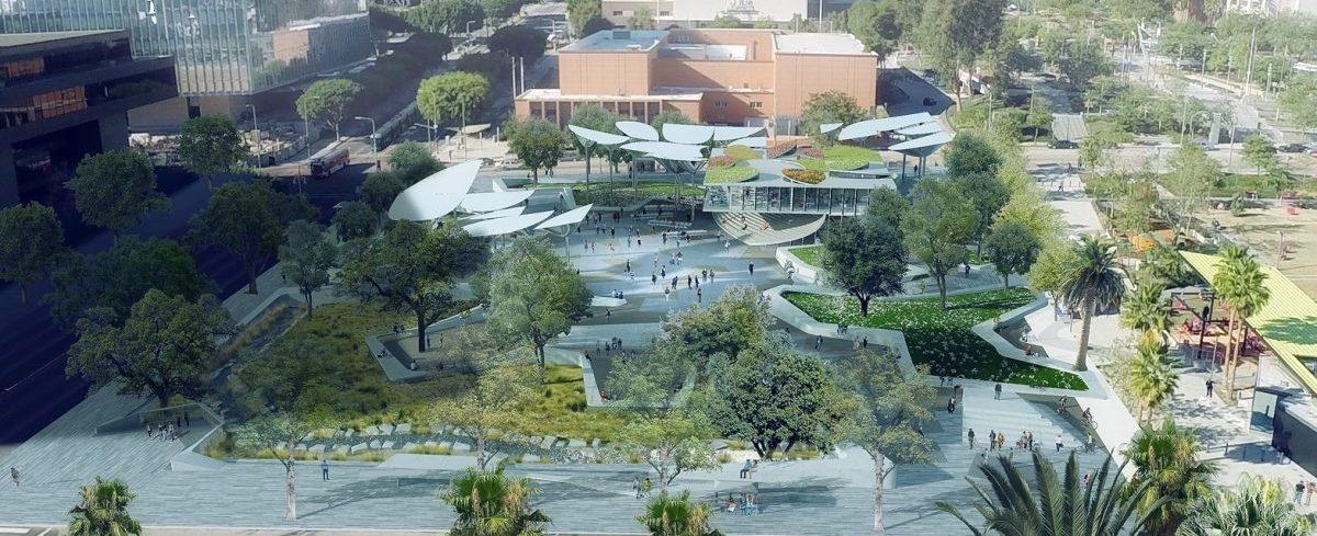 Los Angeles chce ożywić centrum miasta zdominowane przez samochody. Nowoczesny park to najlepszy pomysł
