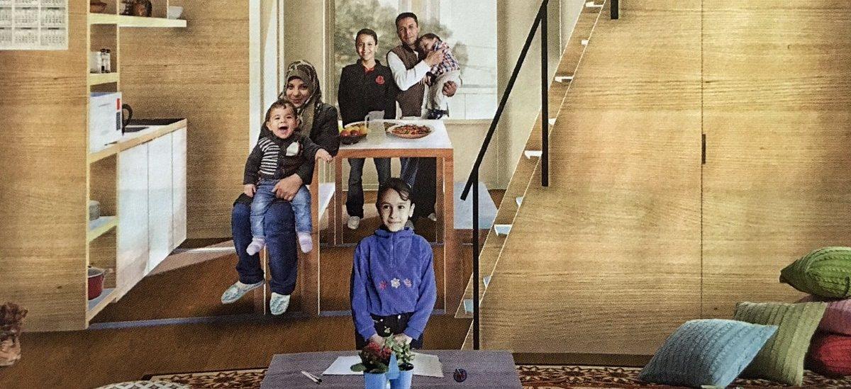 Tymczasowe mieszkania dla uchodźców i ofiar katastrof naturalnych