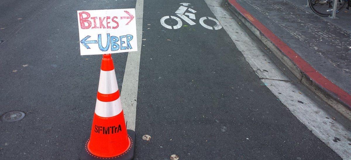 Aktywiści sami wzięli się za robienie rowerowych dróg