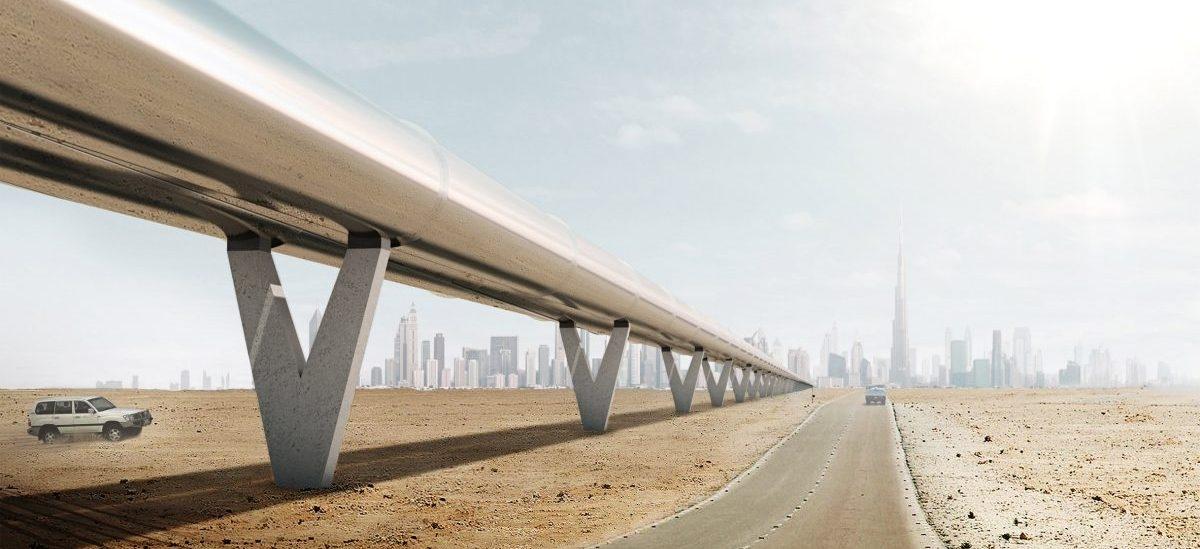 Pierwsze wagoniki Hyperloop pomkną przez pustynie i wjadą na ulice Dubaju