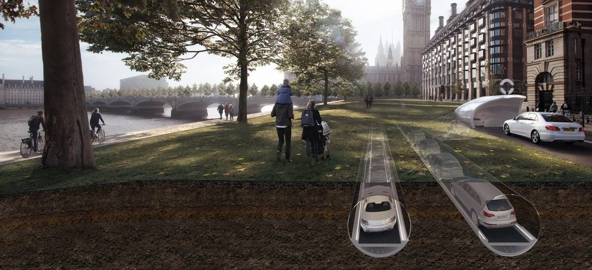 Samochody zjadą do podziemnych kanałów