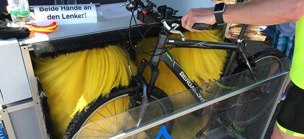 Przenośne myjnie rowerowe