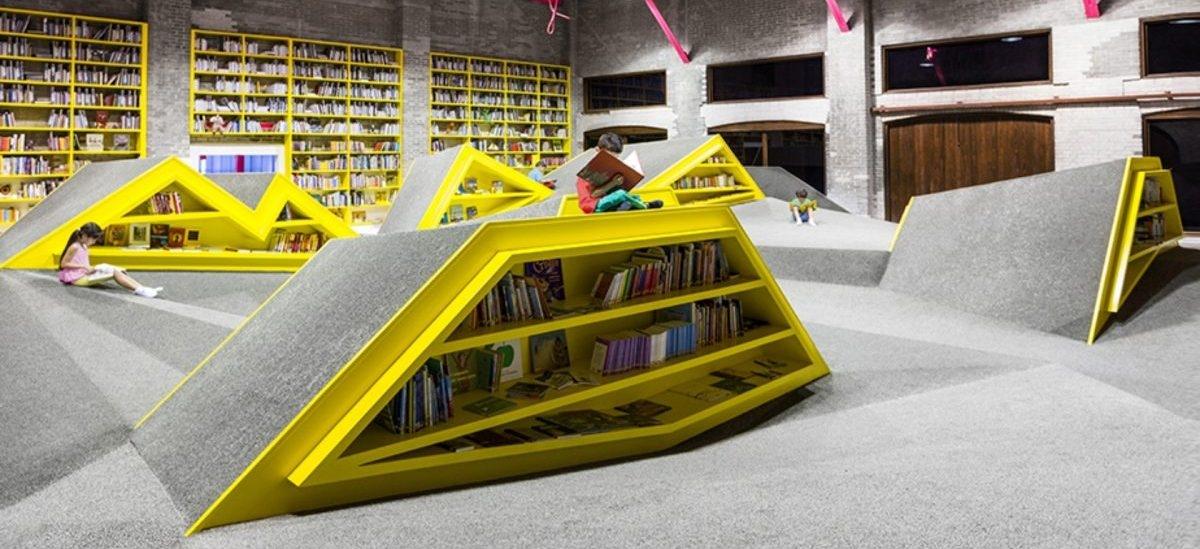 Plac zabaw w bibliotece