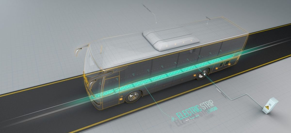 Ładowarki ukryte w jezdni mogą przynieść renesans trolejbusów