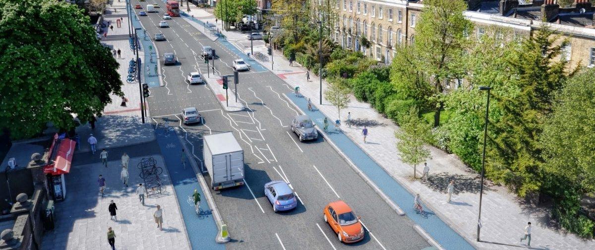 W Londynie na rowerowe drogi wydadzą niemal tyle, ile kosztowały nas stadiony na Euro2012