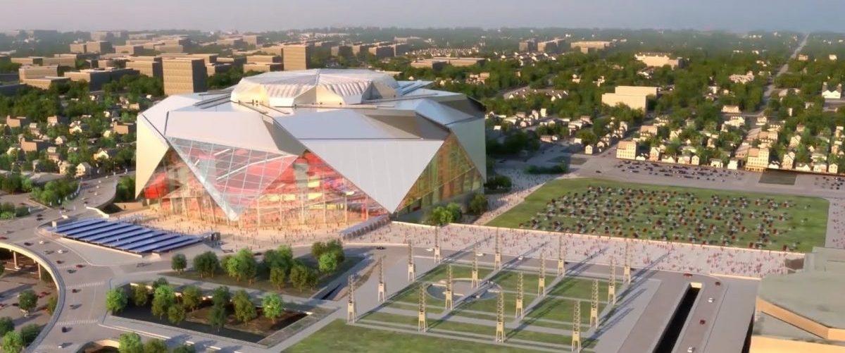 Na stadionie w Atlancie technologia spotkała się z ekologią