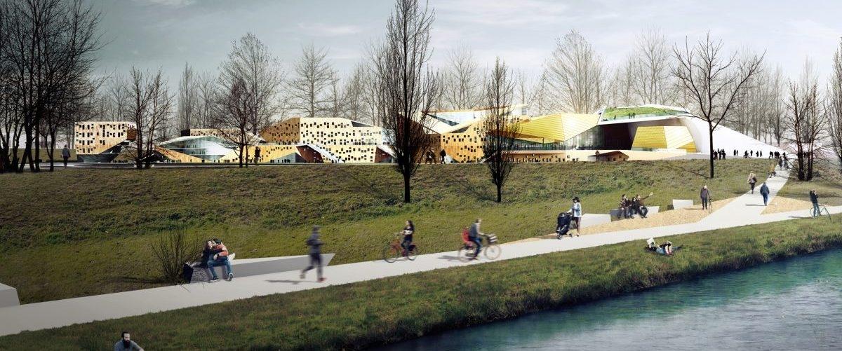 Akademia muzyczna w Krakowie wessie smog: nowy budynek może mieć siłę całego lasu